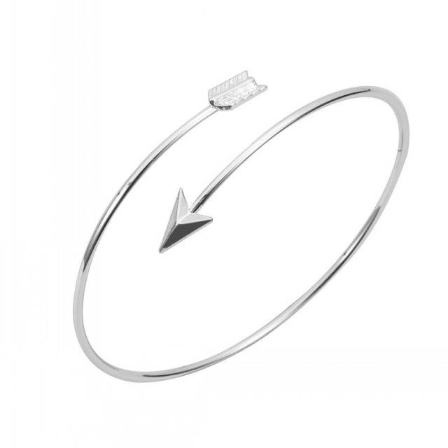 Women's Fashion Arrow Bracelet Bracelets Jewelry Metal Color : 18K Gold Plated|Silver Plated