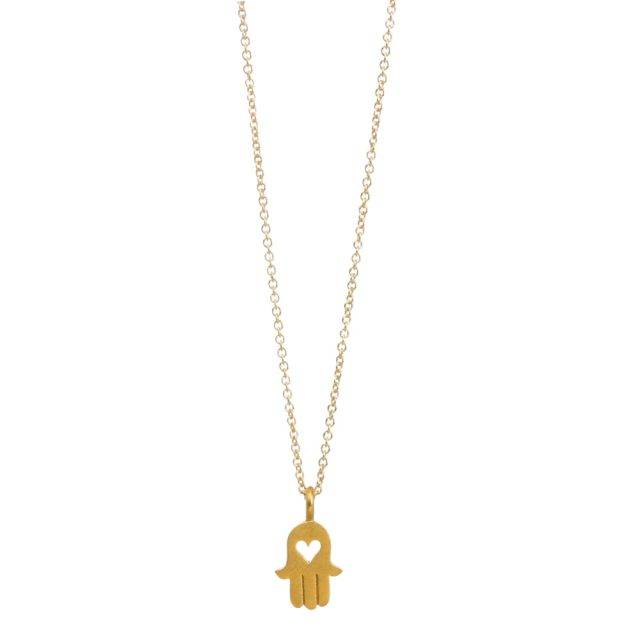 Women's Hamsa Love Pendant Necklace Jewelry Pendants & Necklaces Metal Color : Gold |Silver