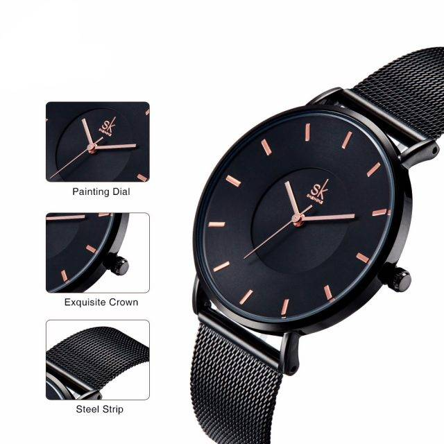 Women's Ultrathin Watches Watches Color : 1|2|3