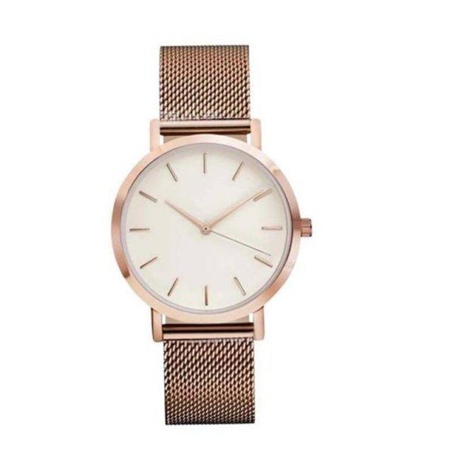Women's Classic Mesh Bracelet Watch Watches Color : Rose Gold|Black White|Gold|Watch Box|Black|Silver