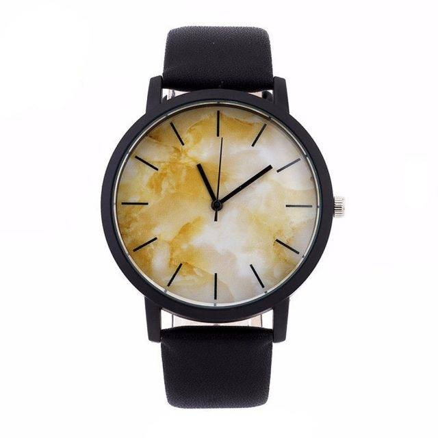 Women's Watches with Marble Dial Watches Color: 3