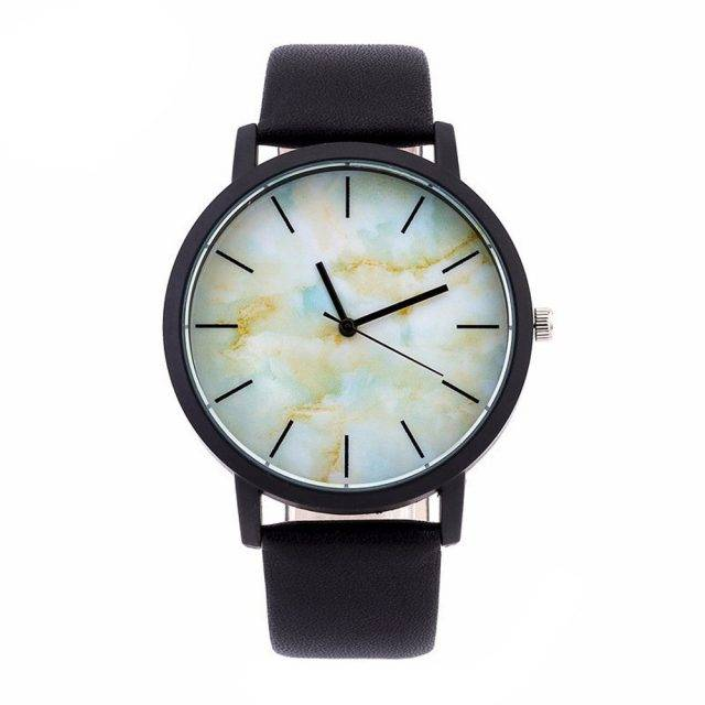 Women's Watches with Marble Dial