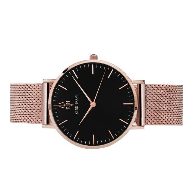 Luxury Quartz Stainless Steel Women's Watches Watches Color : black white|pink white|navy black|brown white|pink white|pink black|brown white|pink black|silver white|brown white|grey white|grey white|navy white|grey black|black black|dark brown/black|brown black|dark brown/black|navy white|pink white