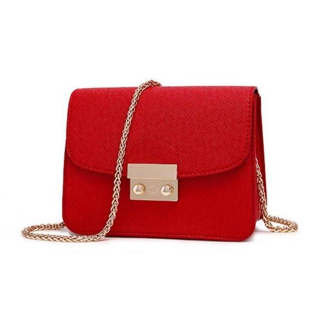 Women's Leather Crossbody Bags Bags & Backpacks Color : Red|White|Pink|Blue|Black