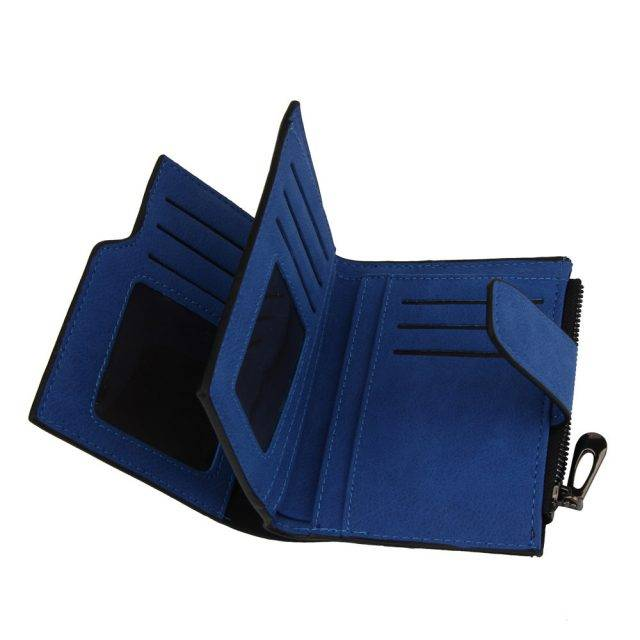 Fashion BiFold Wallet for Women Clutches & Wallets Color : Blue|Hot Pink|Pink|Purple