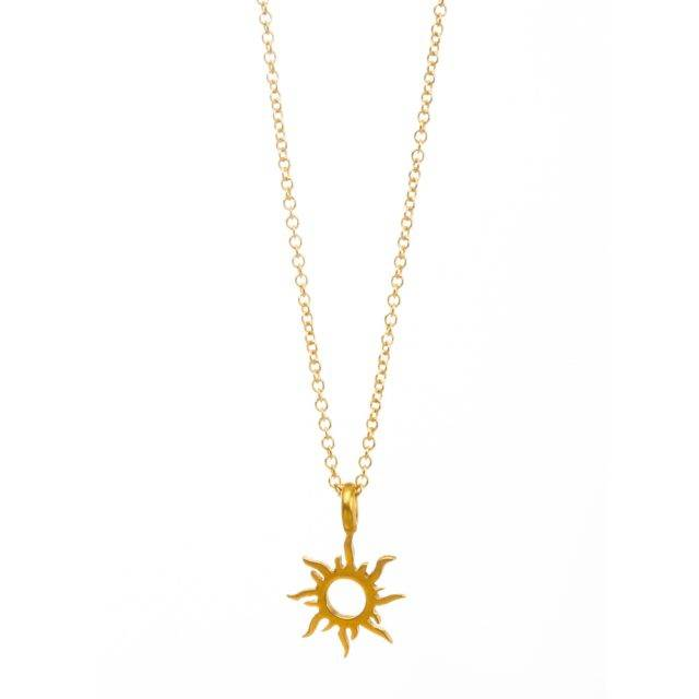 Women's Radiant Sun Necklace