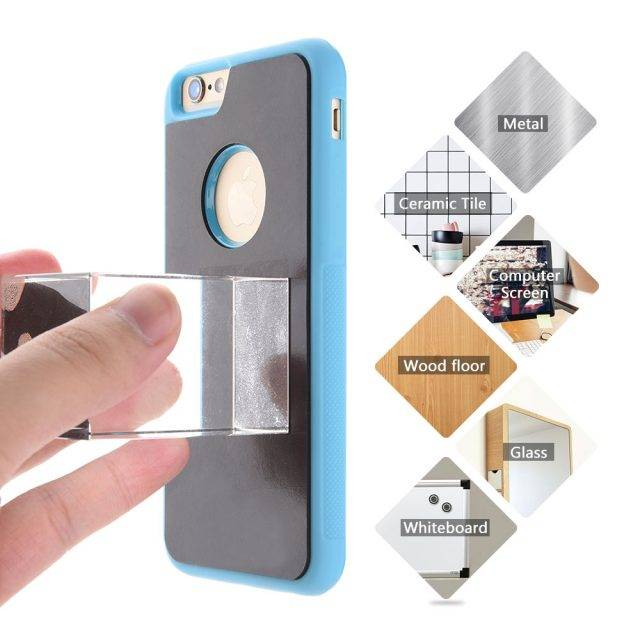 Anti Gravity Case for iPhone Phone Cases Color : Black|Blue|Green|White