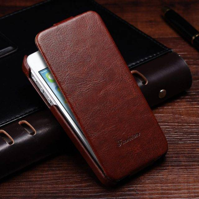 Fashion Flip Case For iPhone Phone Cases Color : Black|Blue|Brown |Rose |Red|White