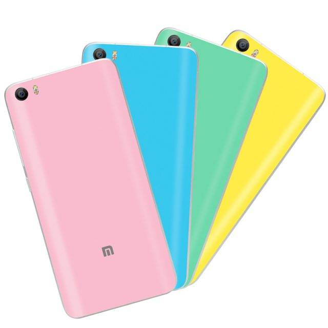 Phone Cases for Xiaomi Phone Cases Color : Black|Light Blue|Gold|Pink|White|Yellow